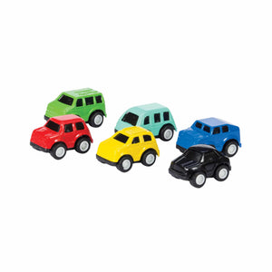 Schylling Pull Back Mini Cars : Assorted Colors
