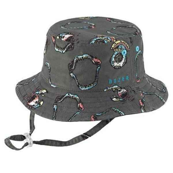 Sun Protection 50+UPF Boys Reversible Bucket Hats 4 Styles