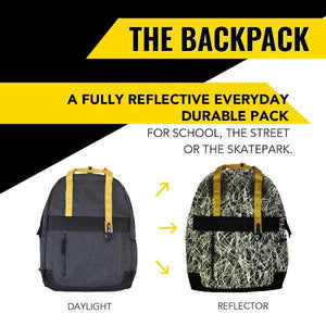 The Backpack by Zapped Outfitters. Local Designer.