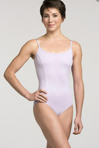 Aisliewear Lilac Leotard with Thin Straps and Scoop Back (style #AW101)