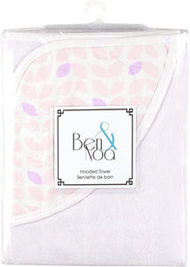 Ben & Noa Hooded Towel : 3 Colour Pattern Choices