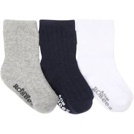 Robeez Kick Proof Stay On Socks for Boys Packs of 3:  6 STYLES