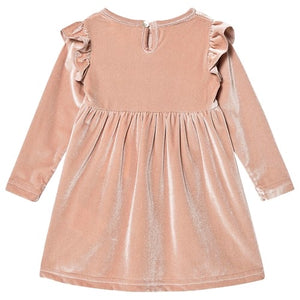 Creamie Velvet Rose Smoke Dress: sizes 1year to 6years