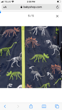 Load image into Gallery viewer, Hatley Dino Fossils Colour Changing Rain Coat: Sizes 2 to 12