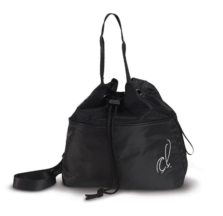 Danshuz Large Lightweight 4 Pocket Black Dance Bag