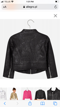 Load image into Gallery viewer, Mayoral Girls Leather Jacket: Sizes 2 to 9
