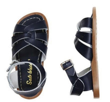Load image into Gallery viewer, Saltwater Original Sandals in Navy : Toddlers 4 to Women's 11
