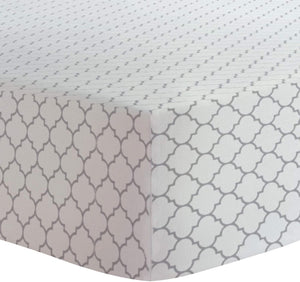Kushies Fitted Crib Sheets : 3 COLOUR PATTERN CHOICES