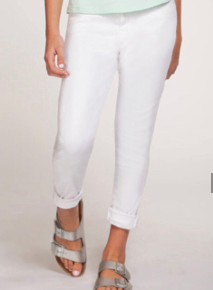 White Dex Jegging Summer Jeans : Size 8 to 14