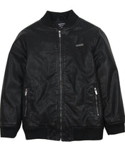 Load image into Gallery viewer, Mayoral Youth Boys Leather Bomber Jacket: Sizes 8 to 18