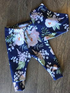 Coast Kids Navy/Pink Floral Locally Made Available in 3 months to 4 years