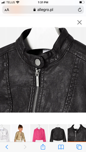 Mayoral Girls Leather Jacket: Sizes 2 to 9