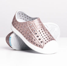 Load image into Gallery viewer, Native Shoes Jefferson Metallic Bling/Shell White