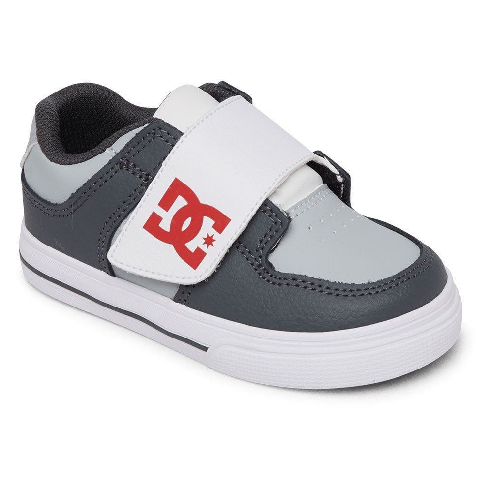 DC Slip On Toddler Pure V Grey Sneaker