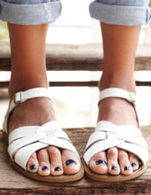 Load image into Gallery viewer, Saltwater Original Sandals in White  : Childs 13 to Women's 11