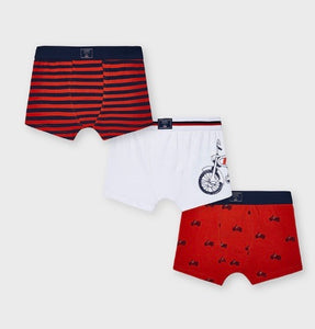 Mayoral Boxer Briefs(3 pack) in sizes 2-16