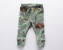 Load image into Gallery viewer, Coast Kids Organic Locally Made Yukon Leggings  Sizes 3M to 4 Years