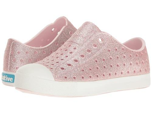Native Shoes Jefferson Bling Milk Pink Sizes C4 to Y4