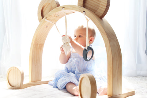 Mini Bar Wood Play Gym - (Display Stock)