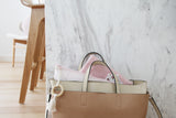 Pink Salt Nappy Clutch - Pre Sale