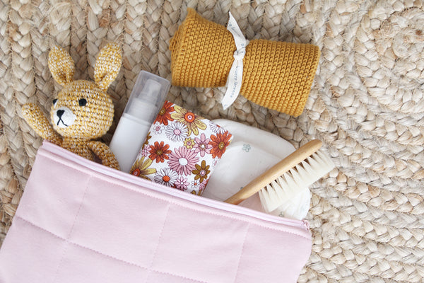Blush Nappy Clutch