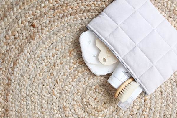 Natural Nappy Clutch