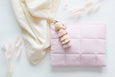 Light Pink Luxe Nappy Clutch