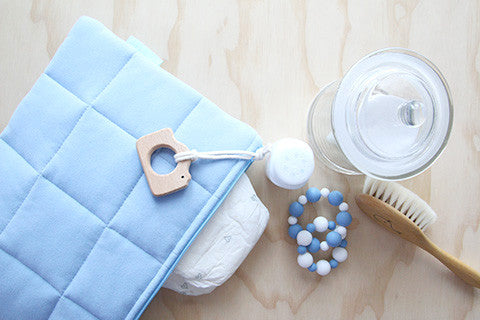 Milky Way Nappy Clutch with Attachment