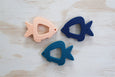 Finley Fish Silicone Teether Navy (Display Stock)