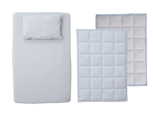 Single Set Doll Bedding - Dusky Skies