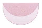 Written In The Stars Play Mat - Blush Pink With Star Screen Print
