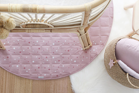 Written In The Stars Play Mat - Blush Pink
