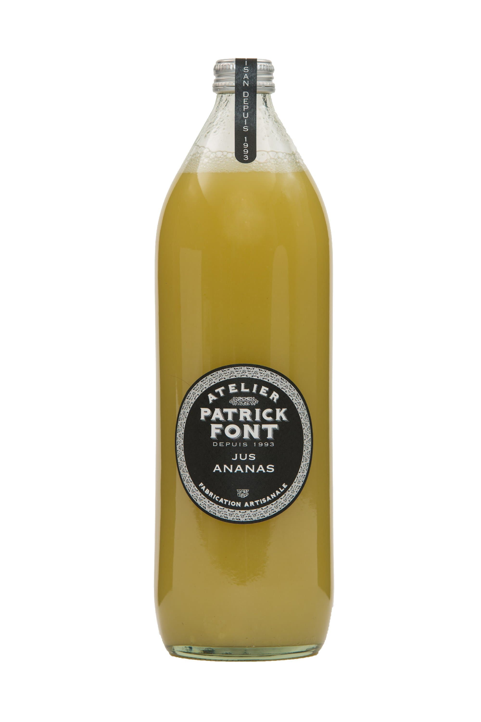 "Artisanal ""Victoria"" pineapple juice, Cold-pressed - Pepper Pantry"