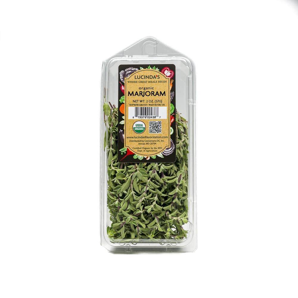 Marjoram, Fresh - Organic - Pepper Pantry