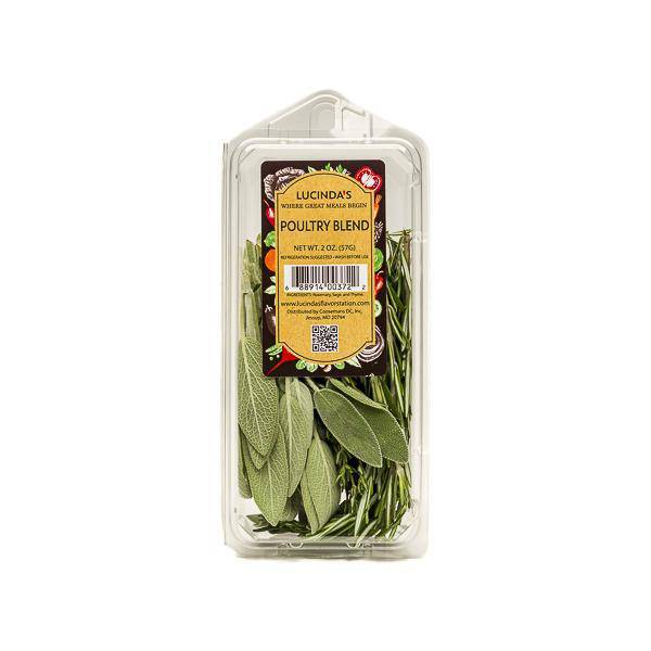 Poultry Blend (oregano.rosemary.sage.thyme) - Organic - 2 Oz - Pepper Pantry