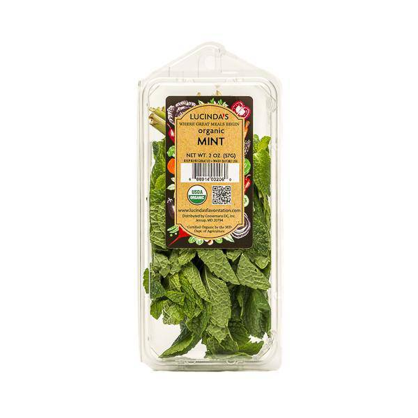 Mint,  Fresh - Organic - Pepper Pantry