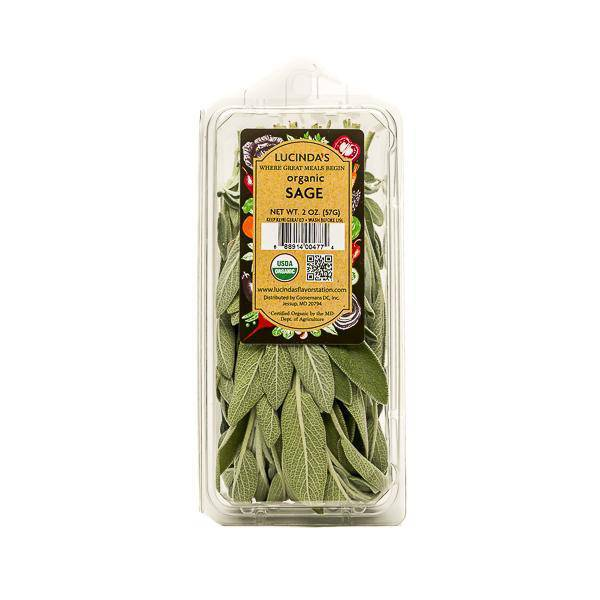Sage, Fresh - Organic - Pepper Pantry