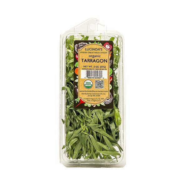 Tarragon, Fresh - Organic - Pepper Pantry