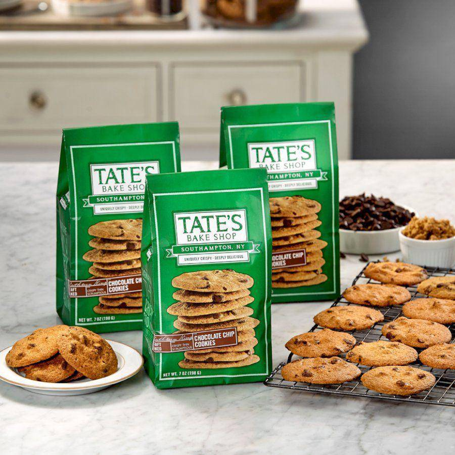 Cookies Tate's Bake Shop CHOCOLATE CHIP 7oz Bag - Pepper Pantry