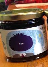 Sir Real Wild Blueberry Jam -  9 oz. - Pepper Pantry