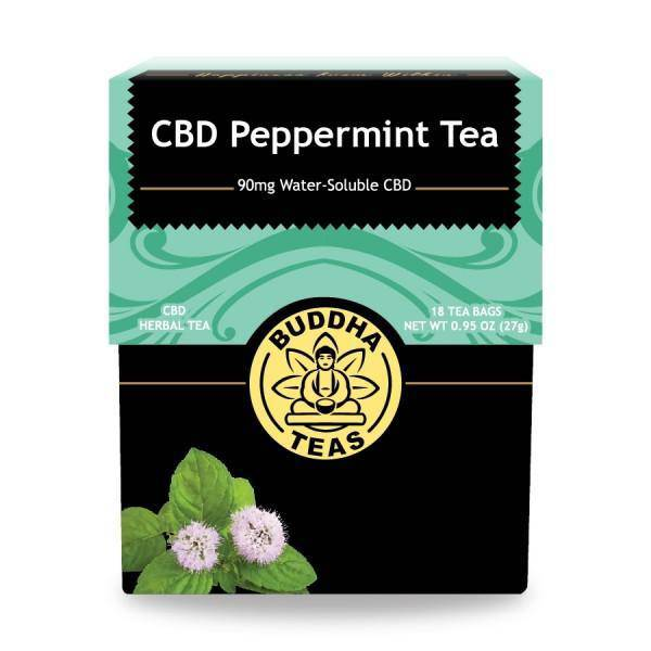 Buddha Tea - CBD Peppermint Tea (18 Tea Bags) - Pepper Pantry