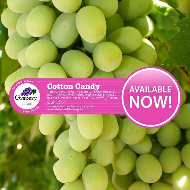 Cotton Candy Grapes - 1 lb. Bag - Pepper Pantry