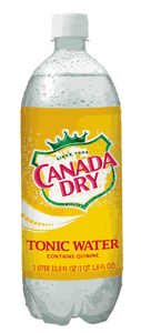 Water, Tonic Water - Canada Dry - Pepper Pantry