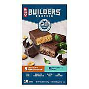 Clif Builders Bars 18 Count - Pepper Pantry