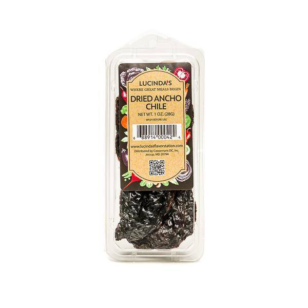 Ancho Chilis Dried - Pepper Pantry