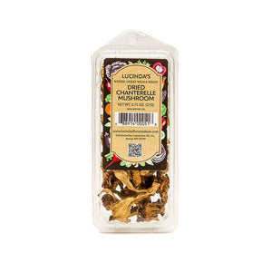 Chanterelle Mushrooms Dried - Pepper Pantry