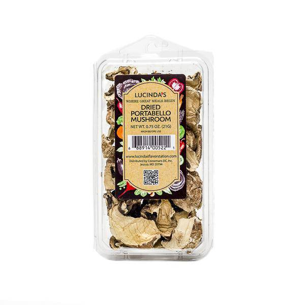 Portabello Mushrooms Dried - Pepper Pantry