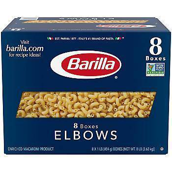 Barilla Elbow Pasta 1 LB - Pepper Pantry