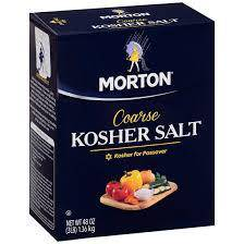 Salt, Kosher - Pepper Pantry