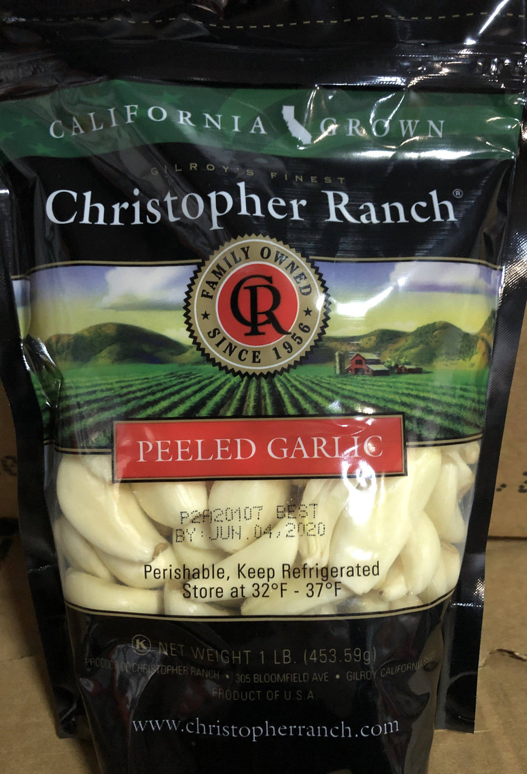 Garlic, Peeled - Christopher Ranch - Pepper Pantry